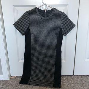 Jcrew houndstooth shift dress